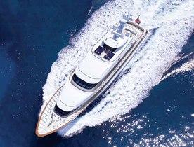 55m Superyacht MADSUMMER New to Charter Market