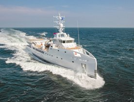 Charter Damen Support Vessel 'Game Changer' In The Bahamas