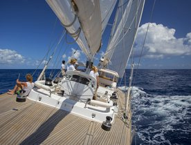 Sailing Yacht JUPITER Drops Weekly Base Rate in the Caribbean
