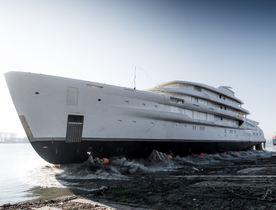 Amels launch 78m custom build
