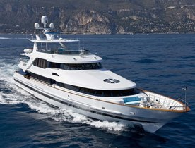 Superyacht ONTARIO Joins Global Charter Fleet