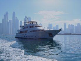 Explore the Arabian Gulf and Oman on Benetti superyacht DXB