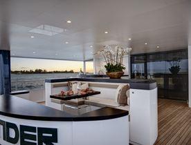 Superyacht HIGHLANDER Has an Open Charter Calendar