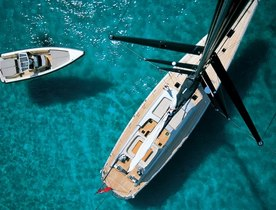 Luxury Wally S/Y 'DARK SHADOW' Reduces Charter Rate in Caribbean