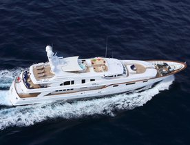 Superyacht 'QM of London' Available for Cannes Film Festival and Monaco Grand Prix Charter