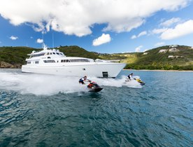 Motor Yacht 'Sea Falcon' Joins the Global Charter Fleet