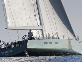 S/Y SHAMLOR Available for Charter During Les Voiles de Saint Tropez 2014