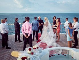 Get Married On Board Superyacht 'My Seanna'