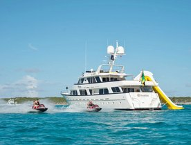 Superyacht SUNSHINE has Christmas Availability in the British Virgin Islands