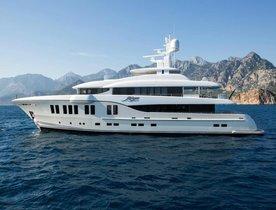 Brand New Superyacht RUYA Joins the Mediterranean Charter Fleet