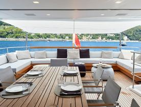 Enjoy a reduced rate Mediterranean yacht charter on board superyacht Y4H