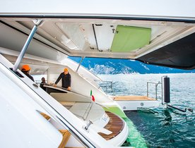 Video: Is This The Future For Beach Clubs On Board Charter Yachts?