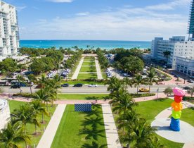 How to visit Art Basel Miami 2018 by superyacht