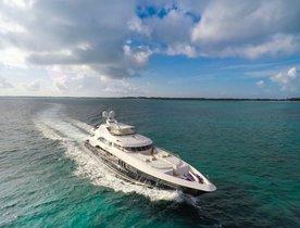 Motor yacht REBEL joins the Global Charter Fleet