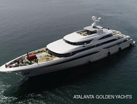 85m Superyacht O'PTASIA launched by Golden Yachts