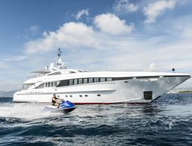 A First Look At The Refit Of Charter Yacht DESTINY