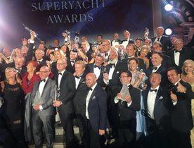 Charter yachts win at World Superyacht Awards 2018