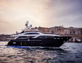 VIDEO: Superyacht KOHUBA Cruises Around Ibiza