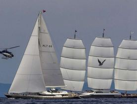VIDEO: Why is 2-time Winner, Charter Yacht 'Maltese Falcon' Not Leading the 2015 Perini Cup?
