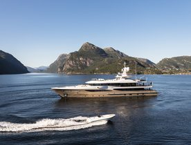 Amels charter yacht LILI undertakes two-year global expedition