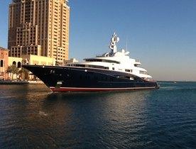 Superyacht NIRVANA's Tour of the Gulf
