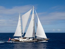 Sailing Yacht ANTARA Available to Charter in the Mediterranean This Summer