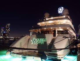 Exclusive First Look On Board Superyacht 'Double Down' In Miami
