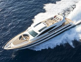 West Mediterranean charter deal announced on luxury yacht TOBY