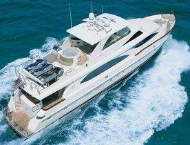 Superyacht VITESSE charter gap in the Bahamas