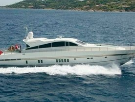 'DISCO VOLANTE' Charter Yacht Available in West Med