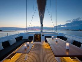 Award-Winning S/Y INUKSHUK New to the Global Charter Fleet