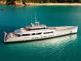Superyacht EXUMA Available in Mediterranean for First Time
