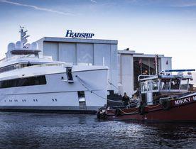 Video: Feadship launches 58m superyacht NAJIBA
