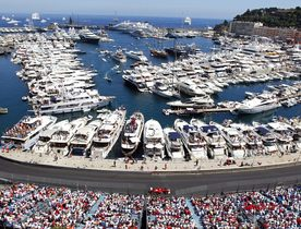 Superyachts Migrate from Cannes to the Monaco Grand Prix