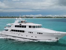 Superyacht EXCELLENCE Available to Charter in the Bahamas