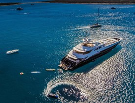 Superyacht AGRAM offers reduced rates in Croatia