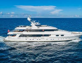 Luxury yacht formerly known as 'Top Five' renamed 'Mi Amore' and now for charter
