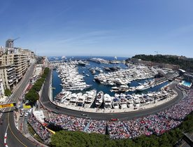 Charter Superyacht 'Indian Empress' at the Monaco Grand Prix
