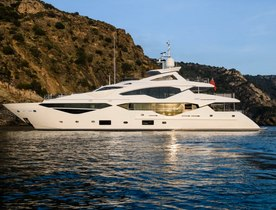 Brand new superyacht 'Berco Voyager' opens for Mediterranean charters