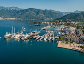 Porto Montenegro Awarded Superyacht Marina of the Year