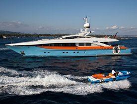 Superyacht AURELIA Acquires Spanish Charter Licence