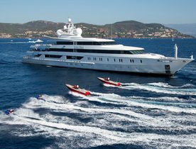 Oceanco Superyacht 'Indian Empress' Signs Up for MYBA Charter Show 2017