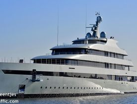 Feadship Superyacht SAVANNAH En Route to Norway for Delivery