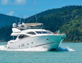 Motor Yacht ALANI Cruises the Whitsunday Islands
