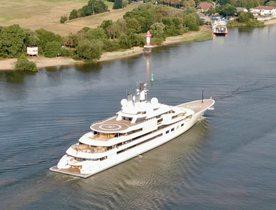 140m Lurssen superyacht 'Project Lightning' embarks on sea trials