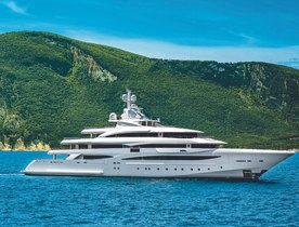 CRN's spacious 79 metre M/Y MIMTEE on display at Monaco Yacht Show