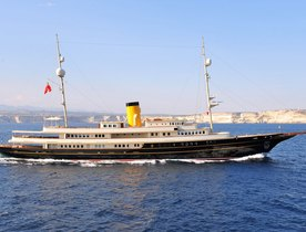 Superyacht NERO Available for Winter Charters in the Caribbean