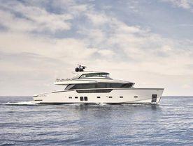 Brand new 27m motor yacht OCEAN SIX joins Mediterranean yacht charter fleet