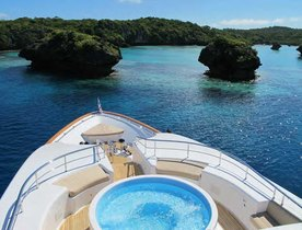 South Pacific Charter Offer on Superyacht MASTEKA 2