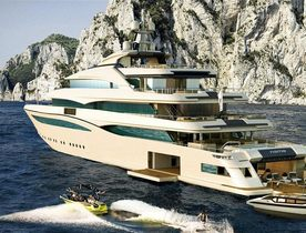 Brand New Superyacht 'Cloud 9' To Launch Soon From CRN
